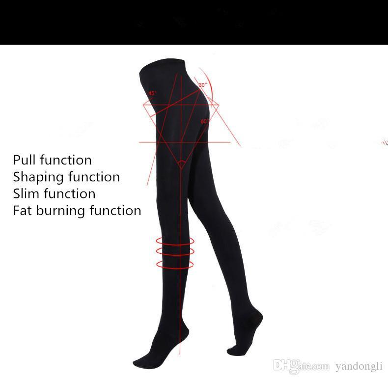 Женская осень и зима сплошной цвет мерсеризации колготки тонкий тонкий леггинсы носки стелс, хип, шейпинг, дезодорант, анти-офф шелк, дыхание