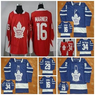 2018 2017 New Toronto Maple Leafs Jerseys Mens 16 Mitchell Marner 34 ... b39651ac7