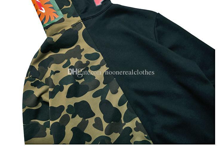 Hommes Femmes Love Sportwear Coat Jogger Tracksuit Zipper Sweat-shirt Créwneck oiseau Ovo Drake Noir Hip Hop Sweat à capuche Hommes Shark Work Stassa