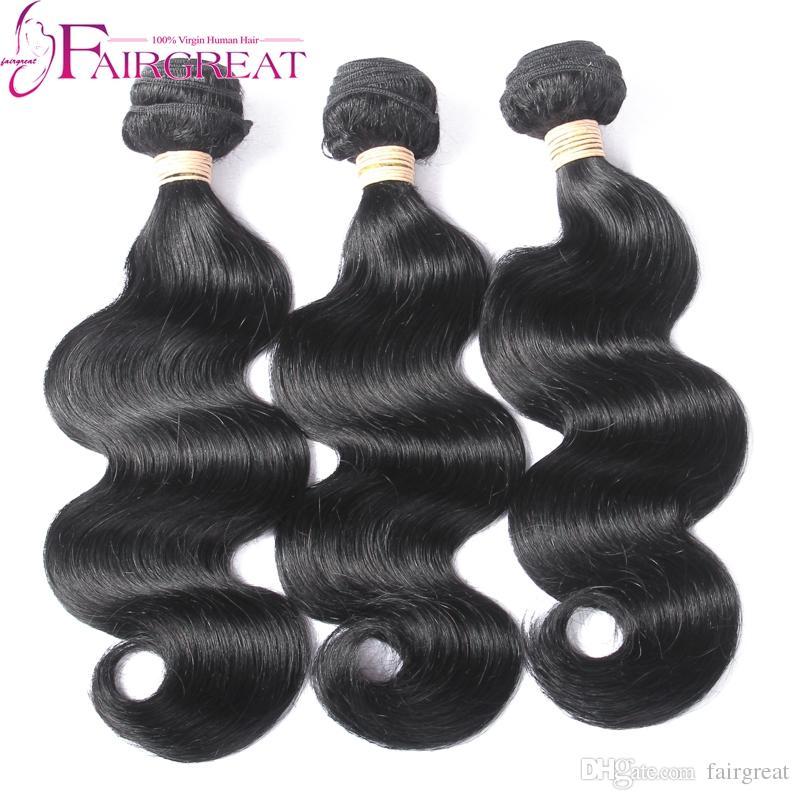 3 Bundles Brasilianische Körperwelle Haarwebart Bundles Unverarbeitete Brasilianische Menschenhaarverlängerungen Günstige Brasilianische Körperwelle Menschliches Haar spinnt