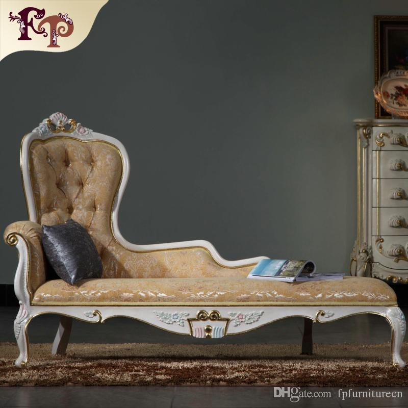 2019 Luxury Chaise Lounge French Classic Furniture