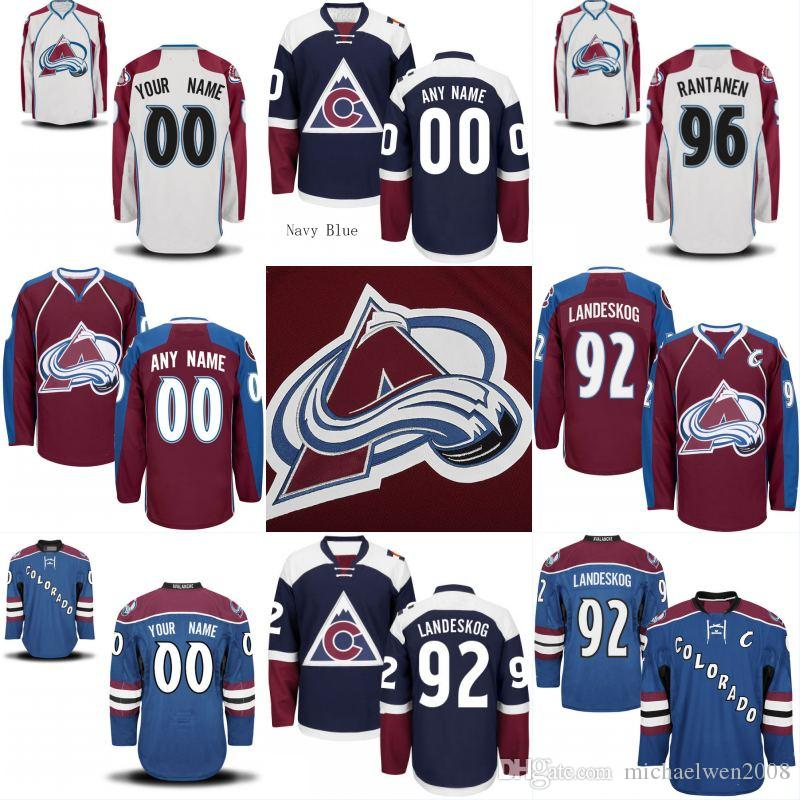 bbd8d6e1 2019 Mens Youth Colorado Avalanche Jersey 92 Gabriel Landeskog 64 Nail  Yakupov 83 Matt Nieto 14 Blake Comeau Custom Hockey Jerseys From  Michaelwen2008, ...