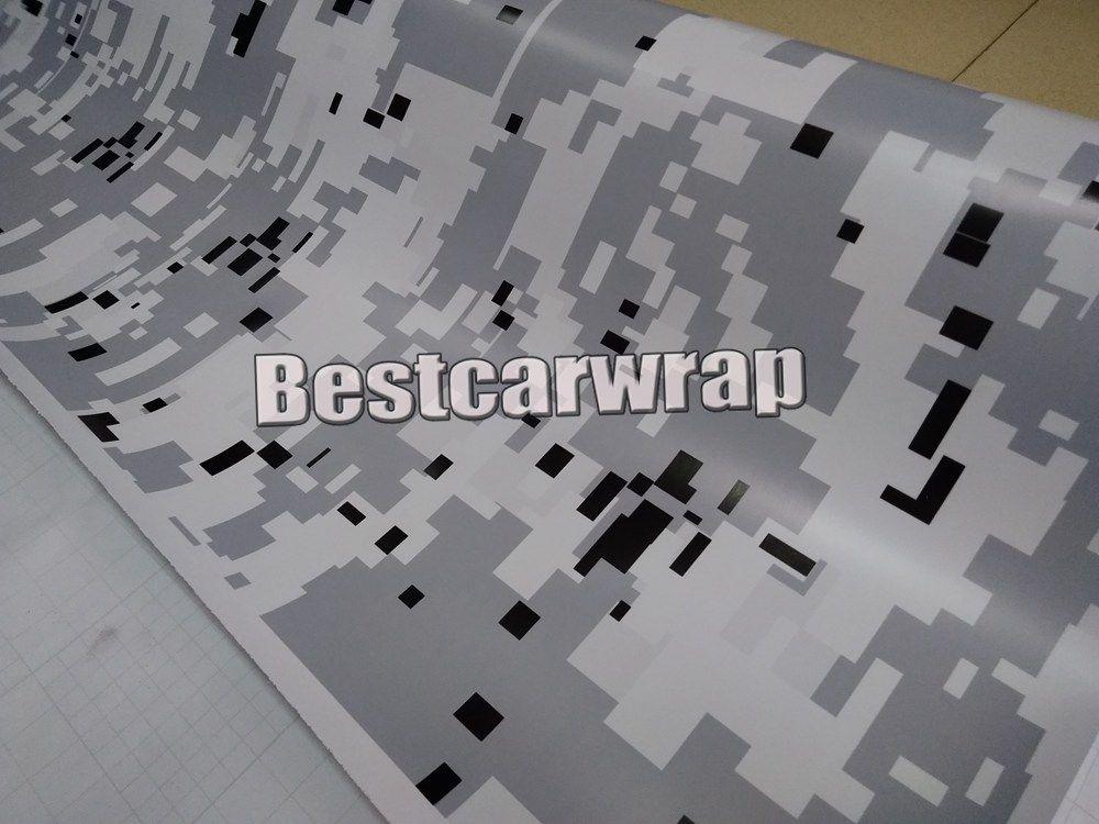 VERSCHIEDENE Farben Digital Camo Vinyl für Auto Wrap mit Luft Release UBRAN Camouflage Styling LKW Abdeckung Folie Größe 1,52 x 30 m Rolle 5x98ft