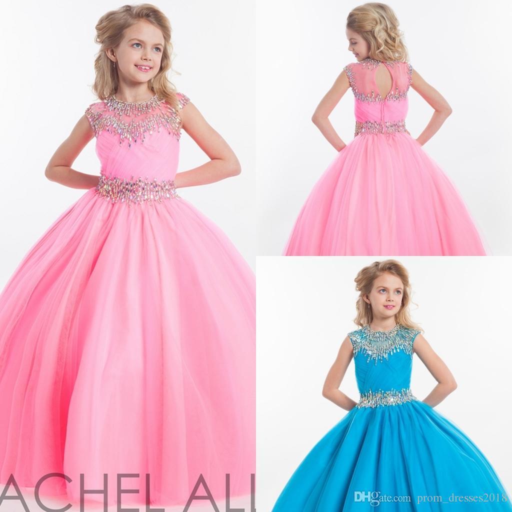 Compre 2016 Rachel Allan Girl Pantalones Vestir Para Los ...