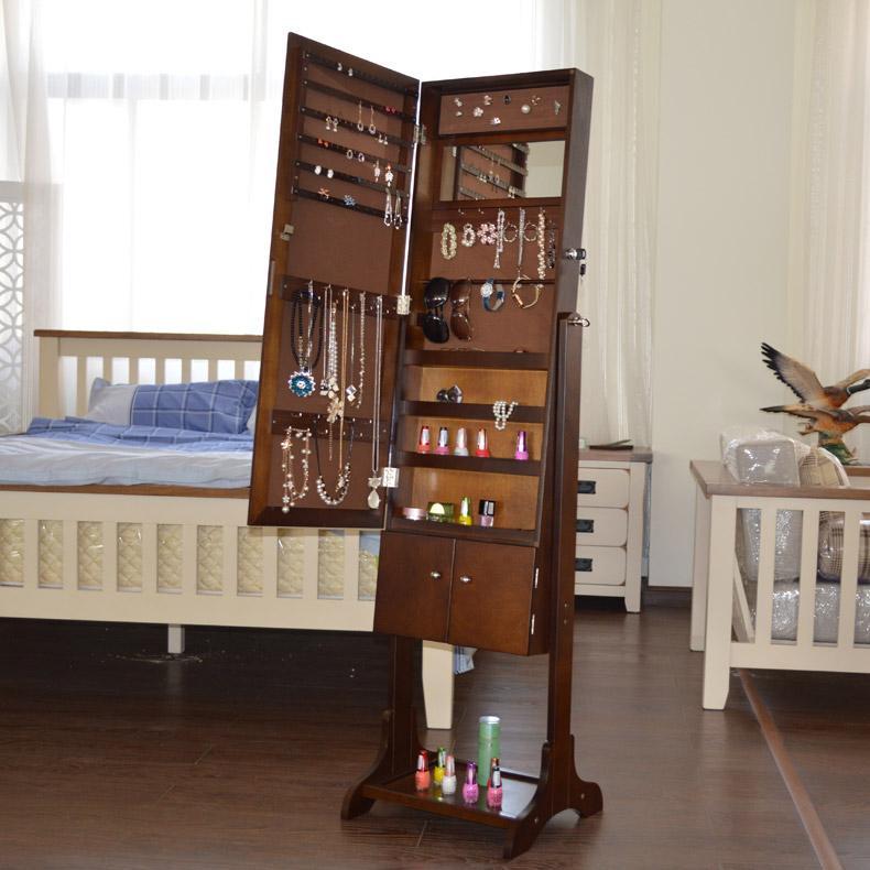 Großhandel Ankleidespiegel Schlafzimmer Spiegelschrank Schließfächer ...