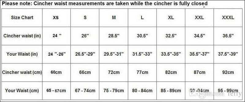 S-3XL Taille Cinchers Femmes En Caoutchouc Shapewear Corset Shapewear Taille Formateurs Corset corps minceur taille shaper shapewear corset