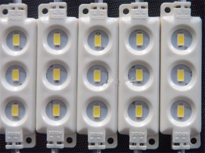 Moduli principali 5630 SMD dell'iniezione dell'iniquio di arrivo di nuovo LED 3Leds / 1.5W alto lume Backlit principale stringa bianco / bianco caldo rosso blu impermeabile