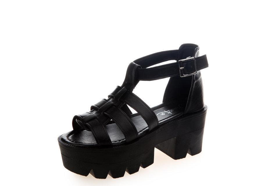 d6bbcc512c94 Summer Pep Toe Woman Sandals