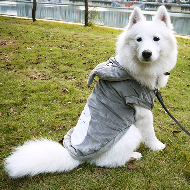 Dog Costumes Cute Totoro Dog Cosplay Clothes Thick Fleece Warm Dog Coat Jacket Cat Clothing Hoodie Totoro Small Large Dog Jumpsuit D-021 Large Dog Costumes ... & Dog Costumes Cute Totoro Dog Cosplay Clothes Thick Fleece Warm Dog ...