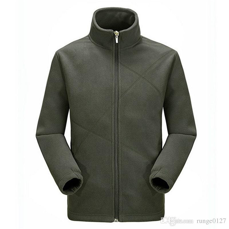 2017 Breathable Camping Jackets Men High Quality Fleece Jackets ...
