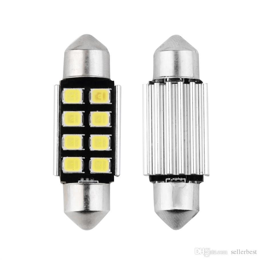 Гирлянда 8 SMD 36 мм автомобильные светодиодные лампы интерьер купола гирлянда лампы для чтения авто крыша лампы Белый 12 в горячий продавать