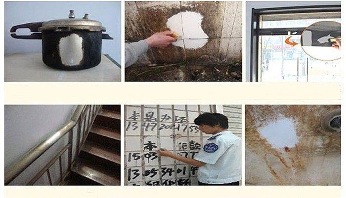 Stainless Steel Rod Super Decontamination Metal Derusting Magic Wands Cleaning Stick Wash Brush Pot kitchen Gadgets Supplies