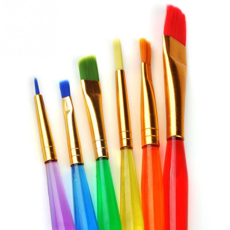 Wholesale 2016 Hot!! Colorful Nail Brush Brushes Set Nail Paint ...