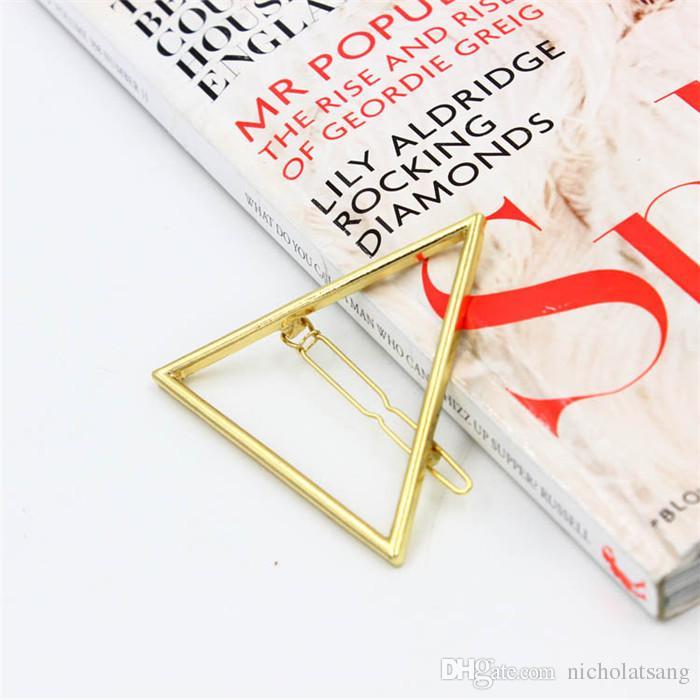 5 unids 2016 Nueva marca Horquillas Star Luna Triángulo Pin Pin Fino Joyería Plaquin Pinza de Pelo Para Mujeres Accesorios Para El Pelo Fábrica al Por Mayor