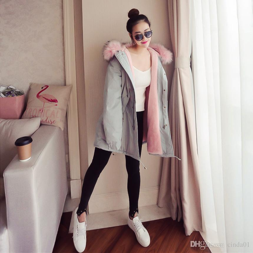 Women Winter Warm Long Parkas Hooded Thick Loose Coats Cute Plus Size Clothing for Female Clothes Jackets Downs