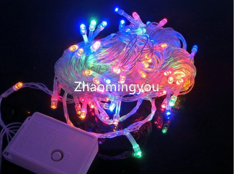 YOU 10M 20M 30M 50M 100M LED string Fairy light holiday decoration AC220V 110V Waterproof outdoor light with controller