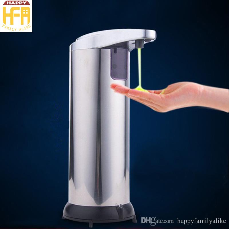 2018 Automatic Soap Dispenser Touchless Stainless Steel Soap Holder  Hygienic Auto Soap Dispenser For Kitchen And Bathroom Household Supplies  From ...