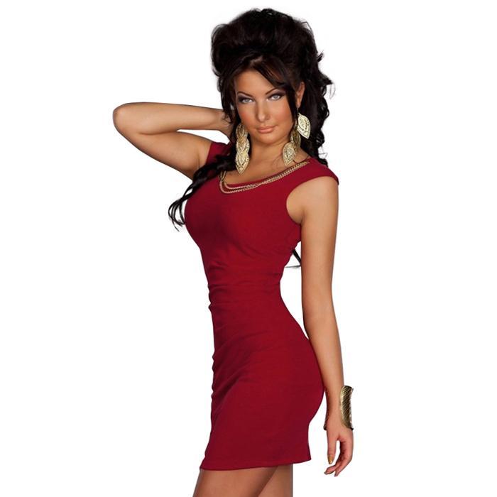 Plus Size XXL Summer Style Sexy Mini Dress Blue,Red,Wine Red Sexy Slim Dress Casual Party Dress for Women Bodycon Clubwear W123415