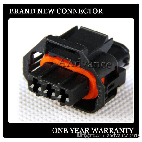 Electrical DJK7037F-3.5-21 3 pin female sealed Diesel injector Pump connector