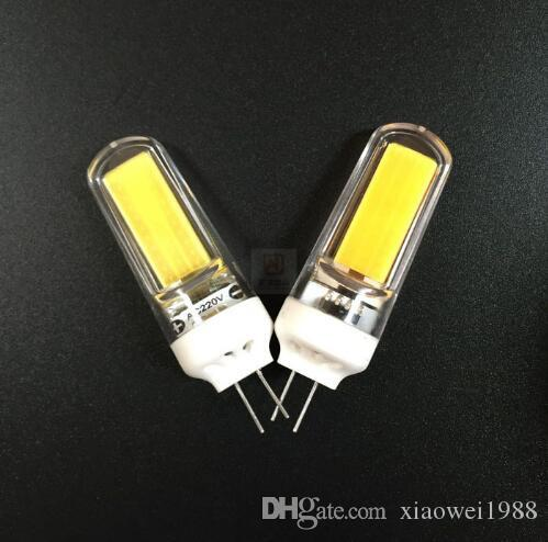 NEW G4 COB Dimmable led 6W AC 220V 240V Led bulb 2609 LED g9 light Replace 30/40W halogen lamp light