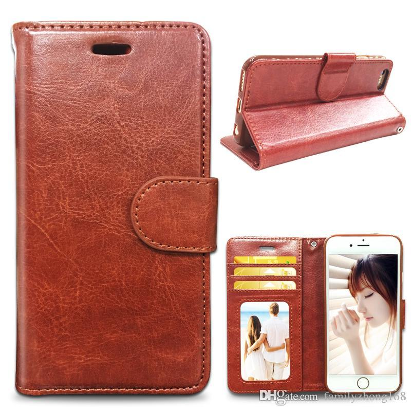 Hottest-Factory Supply Leather Flip Case With Photo Frame ID Card ...
