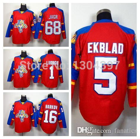 2dcbc7d88 ... clearance 2019 2016 florida panthers jersey 5 aaron ekblad ice hockey  jerseys 16 aleksander barkov 68