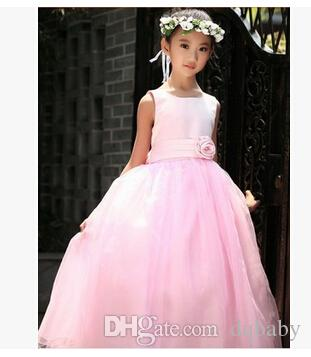 d02f26fd09f Formal Events Girl Dress Wedding Party Children s Dresses For Girl Lace Sequins  Princess Tutu Dress Birthday Clothes For 2-7 ages