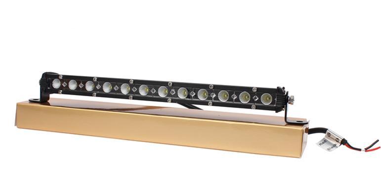 ¡Envío gratis! Mini barra de luz 36 w 13 pulgadas cree llevó el punto de luz del coche / inundación / combo ip67 para offroad luz de niebla camión llevó la barra de luz de trabajo