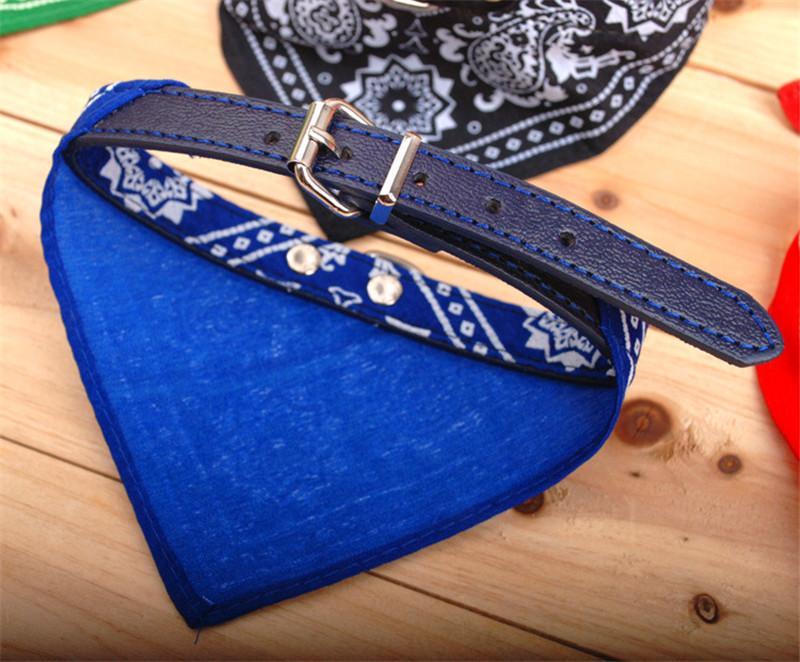 Einstellbare Hundehalsbänder Dreieckige Bandana Schal Hundehalsbänder Leinen 5 Farben Hübsche Kleine Hundeleine Dhl Freies Verschiffen C052