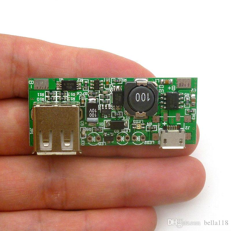 Mobile power chip 5V boost board mobile phone charger with identification module Micro Interface