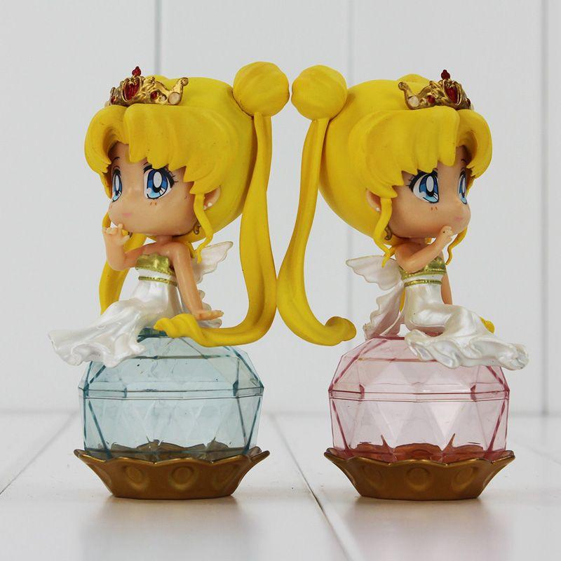 Sailor Moon Q Posket Queen Jupiter Venus Pluto Sailor Moon Action Figure Dolls 2 styles you can choose 11CM