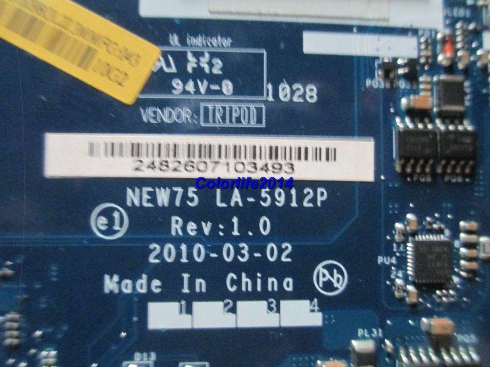 für Acer 5551 5551G LA-5912P MB.BL002.001 MBBL002001 DDR3 Laptop-Motherboard vollständig getestet funktioniert perfekt