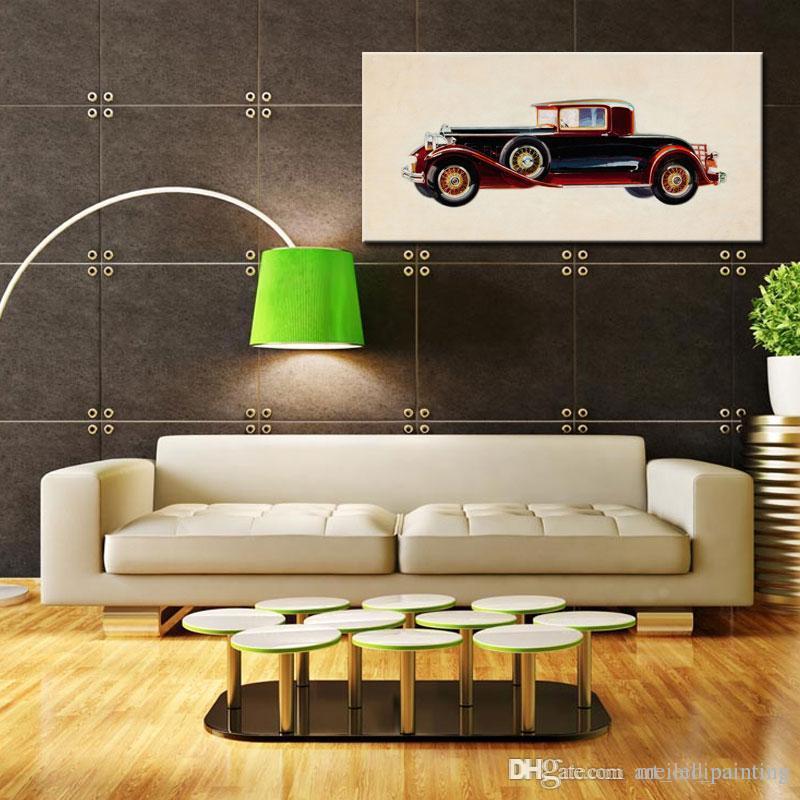 Grosshandel Ein Bild Kombination Weinlese Auto Bilder Stillleben