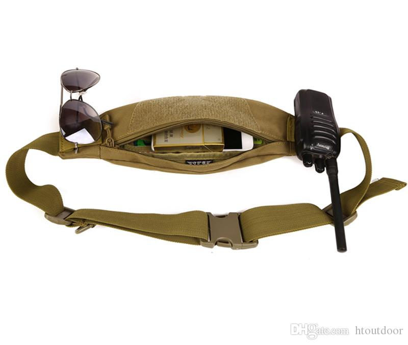 Anti-theft Men Durable Fanny Waist Pack Belt Hip Bum Tactical Cycling Pouch Outdoor Sport Chest Bag
