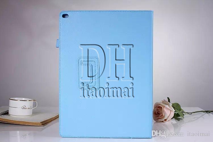 PU Magnetic Litchi Livro Couro Smart Case Capa com suporte para Apple iPad Pro 12.9 '' iPad Air 2 iPad 4 mini
