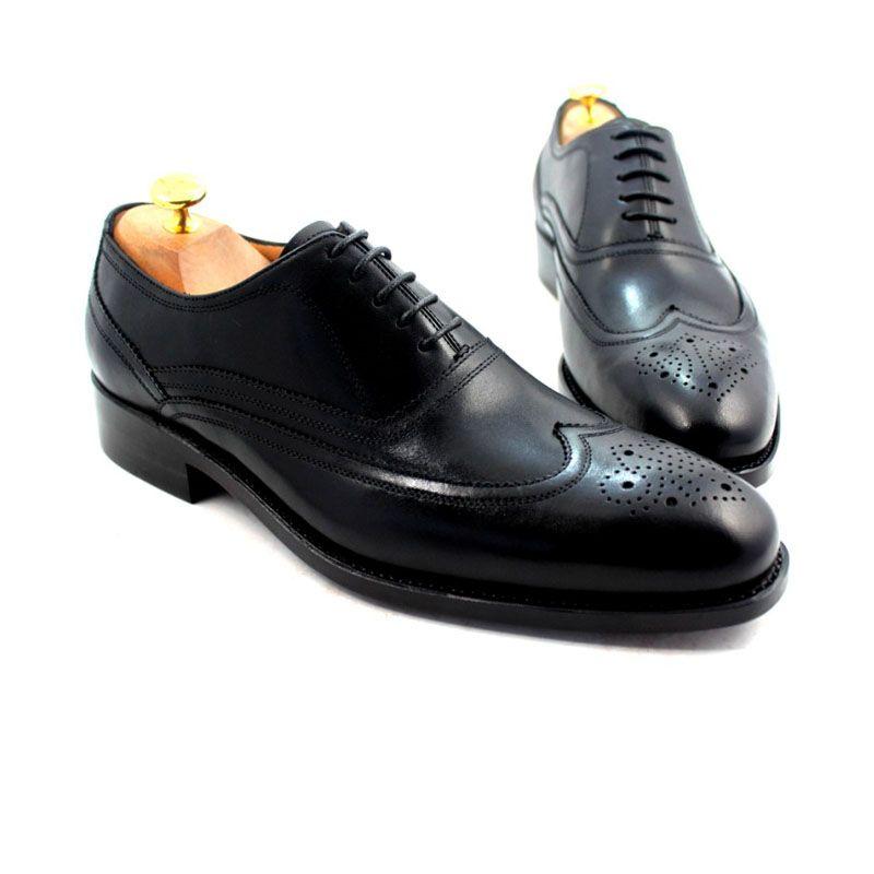 Men Dress Shoes Oxford Shoes Round Toe