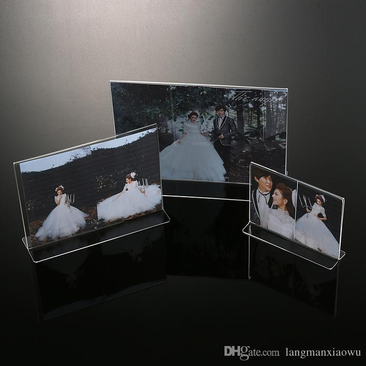 2018 2017 New Clear Acrylic Lucite Photo Frames Plexiglass Frame For ...