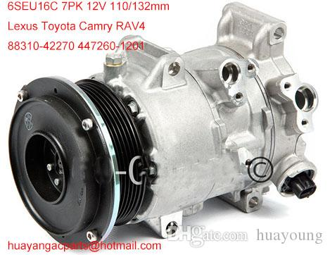 factory direct sale auto ac compressor clutch fit Toyota Camry RAV4 447260-1201 88310-06240 88310-33250 8831006240 8831033250 8831042270