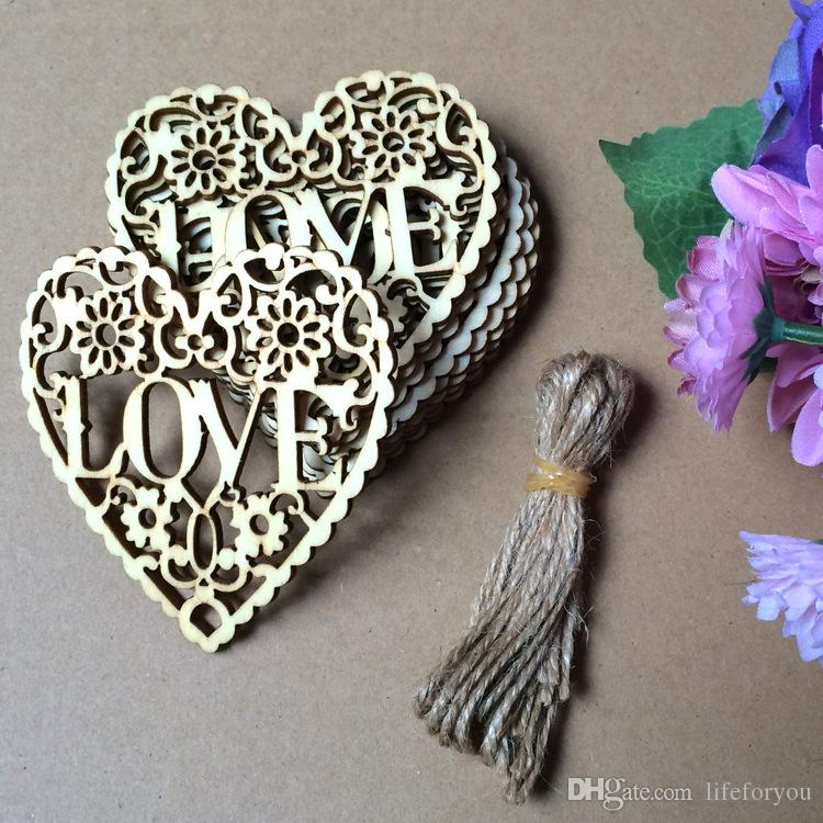 Hot Wedding Ornaments Heart Christmas Decorations Birthday Valentine's party hanging props wholesale, bag