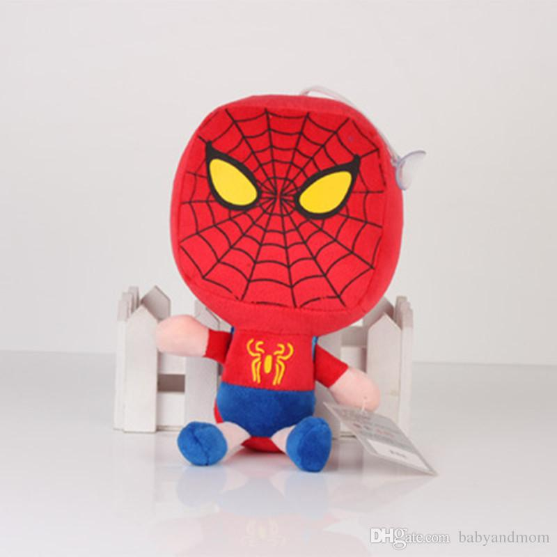 Wholesale marvel The Avengers plush toy Captain America Iron Man Wolverine X-Men Thor Spider man soft doll stuffed toy 20cm
