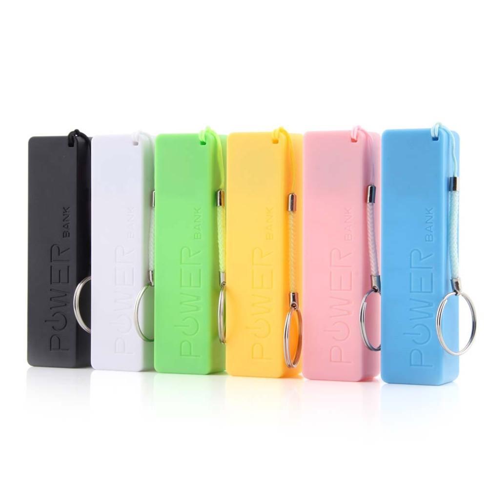 Evrensel Lehimsiz 5 V 1A Parfüm Tarzı Mobil Güç Banka Kılıfı Kutusu DIY USB 1 * 18650 Pil Kapağı Anahtarlık KENDINIZI YAPAR