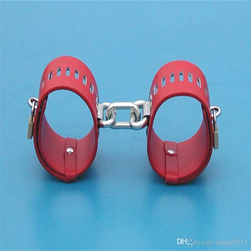 2016 new handcuffs fetter lock key open shackle bondage bundled slave game