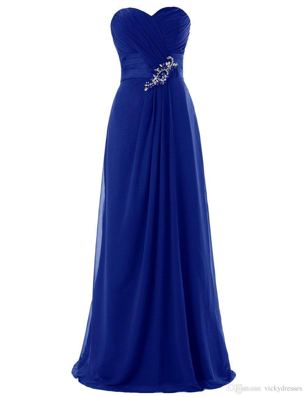 2016 New Blue Party Dresses Elegant Latest Lace Up Evening Gowns ...