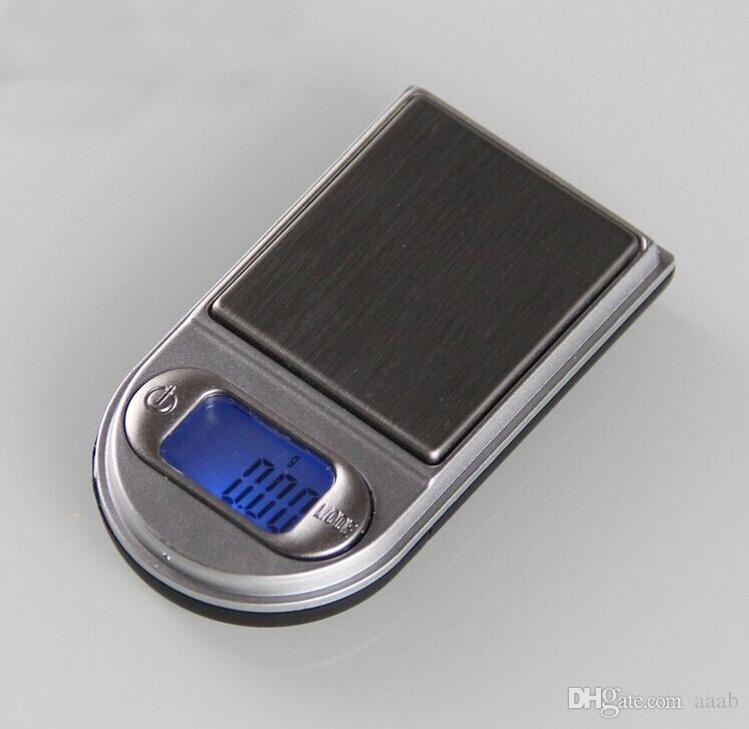 200g x 0.01g Mini escalas digitales de estilo liviano para joyería de oro y escala de diamante 0.01 Balance Gram Balanzas electrónicas