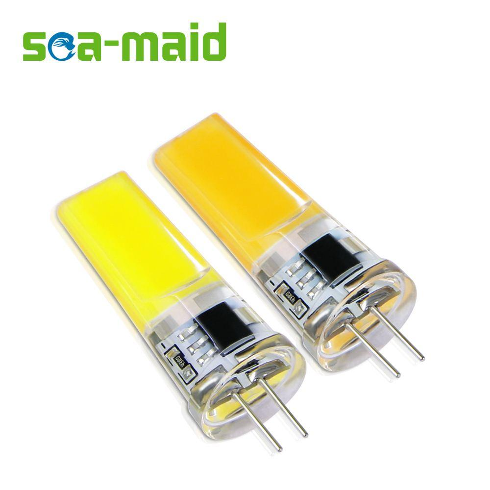 Pack of 6 Energy Saving 220V LED Lamp bulb Replace 7W 12W 15W 20W 25W Fluorescent Light SMD G4 2508-COB LEDs lampada led