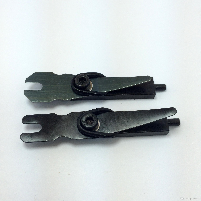 2 Satz Tattoo Maschine Short Armature Bar 1018 Stahl Tattoo Gun Liner Shader Teile Armature Bar Sping Schraube O-Ring Nippel