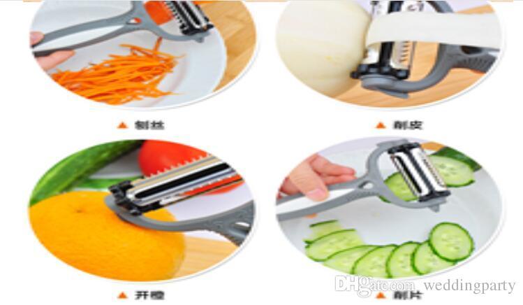 Multifuncional Rotary Cenoura Batata Peeler Melon Gadget Vegetal Fruta Nabo Slicer Cortador De Cozinha Cookig Ferramentas