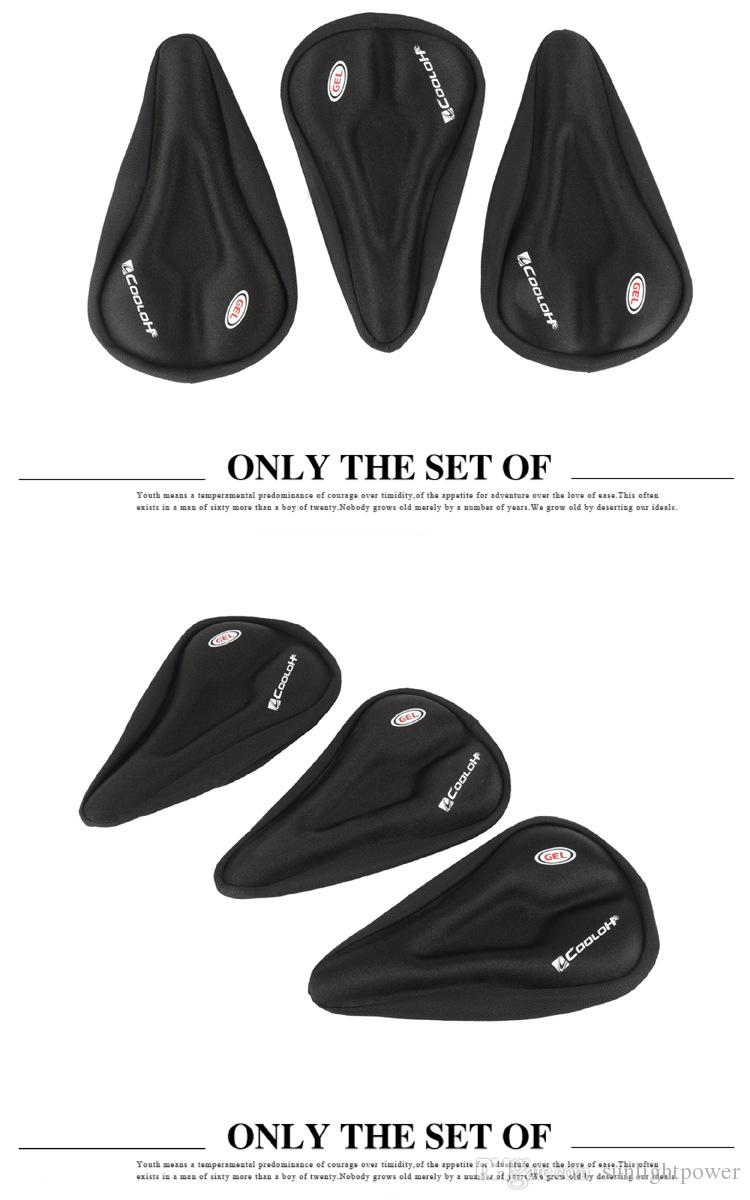 Bicycle Saddle Liquid Silicon Gels Bike Saddle Cover Cycling Seat Mat Comfortable Cushion Soft Seat Cover for Bike Part
