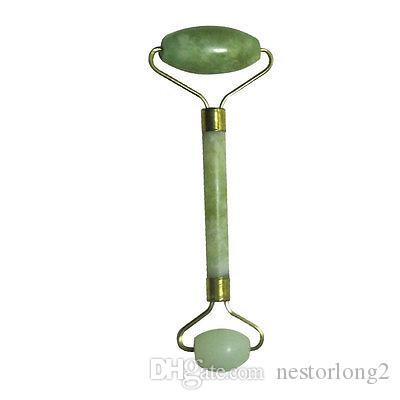 New Hot Portable Pratical Jade Facial Massage Roller Anti Wrinkle Healthy Face Body Head Foot Nature Beauty Tool
