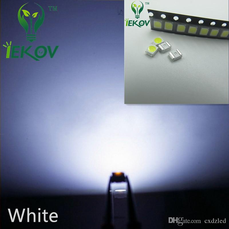 2835 0.2W SMD White LED Super Bright Light Diode High Quality SMT Chip lamp beads Suitable for bicycle DIY